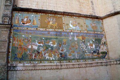 Mehrangarh Fort Mural