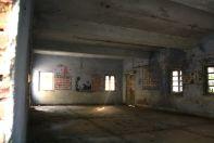 Inside of an abandoned school