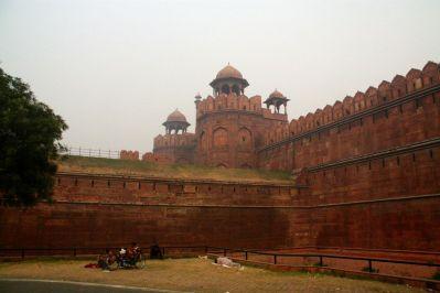 Red Fort Delhi Wall 2