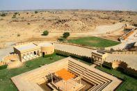 Suryagarh View over desert