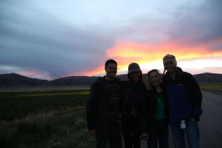 Bus from Cusco to Puno Sunset Group