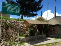 Ticket stop for Colca