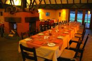 Colca Lodge Restaurant Table