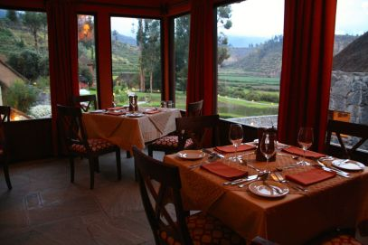 Colca Lodge Restaurant View