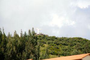 Cusco Cristo Blanco White Christ