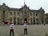 Government Palace of Peru and Guards