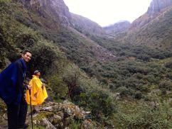 Lares Trek Day 1 Up Valley
