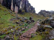Lares Trek Day 2 Mountain path