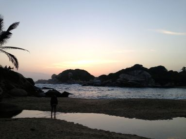 Park Tayrona El Cabo Sunrise beach