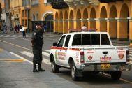 Plaza de Armas Police Car