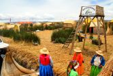 Uros Floating Islands Isla Apu Inti Corazon