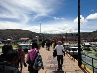 Uros Floating Islands Puno Port