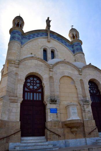 Algiers Notre Dame d'Afrique Front