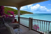 Blue Waters Antigua Rock Cottage View