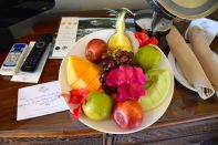 Blue Waters Antigua Room Fruit Plate