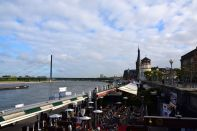 Dusseldorf Rhine Promenade Restaurants
