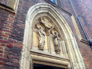 Dusseldorf St. Lambertus Basilica Carvings