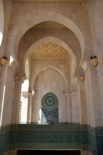 Hassan II Mosque Arches