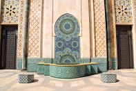 Hassan II Mosque Fountain