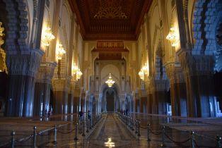 Hassan II Mosque Interior 3