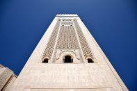 Hassan II Mosque Perspective