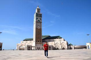 Hassan II Mosque Walk
