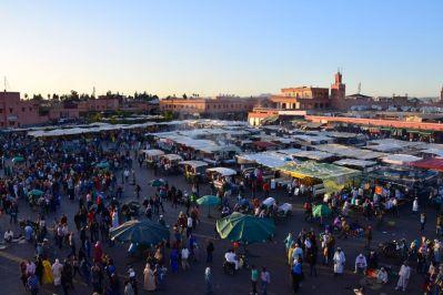 Jemaa el-Fnaa Food Stalls