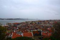 Lisbon Castelo de St Jorge View