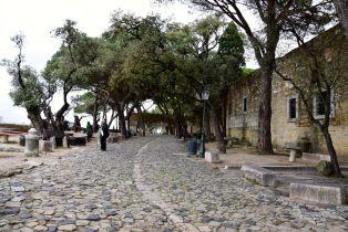 Lisbon Castelo de St Jorge Walkway