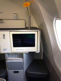 Lufthansa Flight to EWR Business Class