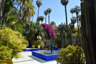 Majorelle Garden Fountain