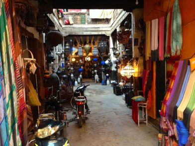 Marrakech Souk Lights