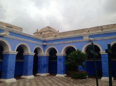 Monasterio Di Santa Catalina Blue Square