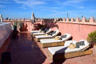 Riad Zamzam Terrace Lounge Chairs