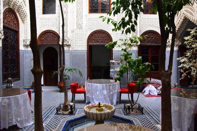 Ryad Alya Courtyard Seating