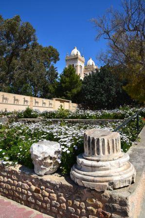 Carthage Museum Acropolium Back