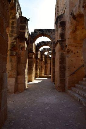 El Djem Amphitheater Arches