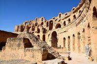 El Djem Amphitheater Side
