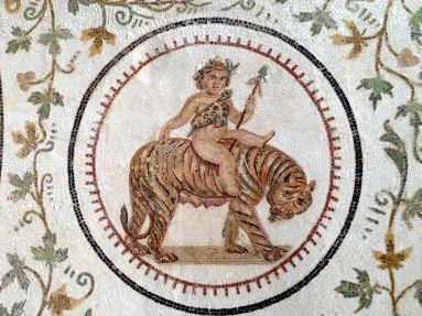El Djem Museum Mosaic Details