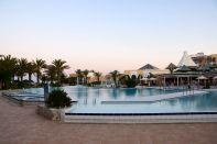 Hasdrubal Thalassa Pool Sunset