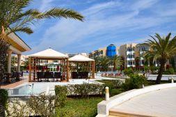 Hasdrubal Thalassa Pool from Beach