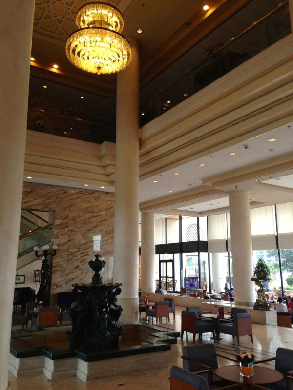 Hilton Alger Lobby