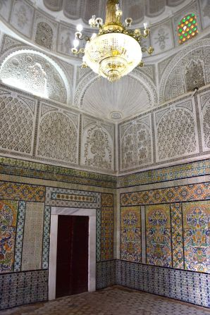 Kairouan Mosque of the Barber Interior