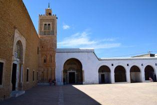 Kairouan Mosque of the Barber courtyard