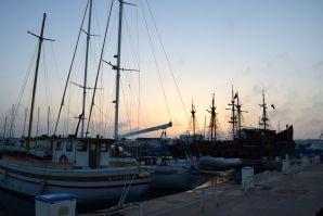 Yasmine Marina Boats Sunset