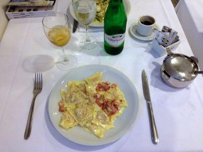 Pasta at Il Matterello Ristorante
