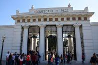 Buenos Aires La Recoleta Cemetery Entrance