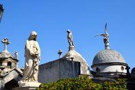 Buenos Aires La Recoleta Cemetery Statues
