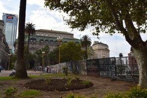 Buenos Aires Plaza de Mayo Fence