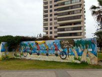 Iquique Beach Mural